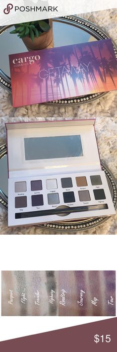 Cargo shadow palette BRAND NEW. Managed to misplace the duel ended brush that came with this palette in the 2 seconds that I got this in, but I will send a brand new unused Anastasia duel end shadow brush still in wrapping. Gorgeous shadow. Magnetic closure. Protective film over mirror. 💗 Thanks for looking! Check out the rest of my always growing closet! I have tons of name brand and high end items at around 50% off retail! Sephora Makeup Eyeshadow