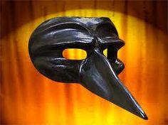 Scaramuccia (Scaramouche) mask.