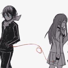 Los japoneses creen que las almas gemelas estan unidas por un cordon rojo por los meńiques, ya que la vena que cruza por ellos llega al corazon!....<3