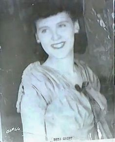 Elizabeth Short (aka The Black Dahlia) - age unknown, but she looks similar in age to the 16 year old photo. To hazard a guess, I'd say mid-teens.