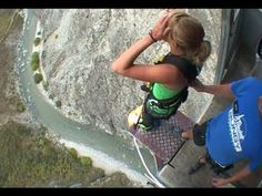 Scariest Highest Places Most Dangerous Bungee Jump in The World 2016
