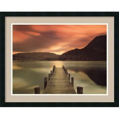 Amanti Art 'Ullswater, Glenridding, Cumbria' by Mel Allen Framed Photographic Print