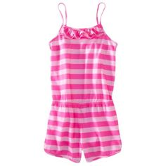 Xhilaration® Girls Sleepwear Romper - Assorted Colors