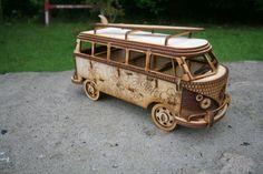 Laser schneiden VW Bus Wohnmobil Camper van von FleursGifts auf Etsy
