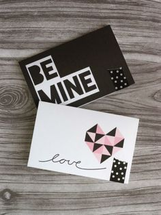Use these printable Valentine's Day Cards with your candy and presents this year! By @Oleander and Palm (Jeran McConnel)