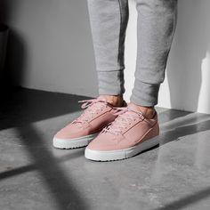Could you rock these minimalist pastel joints from @etqamsterdam? #hskicks by highsnobiety