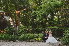 A classic and elegant destination Southern garden wedding in Nashville | Paul Rowland Photography  Venue: CJ's Off the Square, Franklin, TN