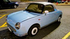 An old Nissan Figaro, I think.