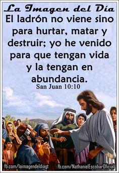 """14 de octubre de 2014 - """"Jesús dice: Yo he venido para que tengan vida y la tengan en abundancia, acéptalo en tu corazón """". #UnaVsiBniV"""