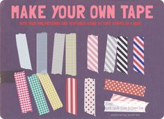 Make Your Own Tape Strips in Photoshop