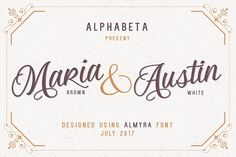 Almyra Script by Alphabeta on @creativemarket