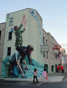 Street Art by Fintan Magee   Showcase of Art & Design