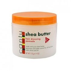 Hair Dressing Pomade - Cantu Shea Butter Cantu Shea Butter, Hair Pomade, Coffee Cans, Hair Dressing, Hairdresser, Creme, Canning, Ajouter, Simple