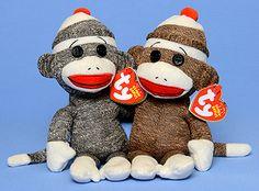 beanie sock monkies by ty
