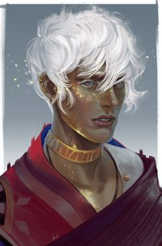 So, uh.this magical boy just casually stole my heart. Dnd Characters, Fantasy Characters, Character Portraits, Character Art, Illustrations, Illustration Art, Boy Art, Poses, The Magicians