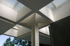 Architecture - Eero Saarinen | Indianapolis Museum of Art