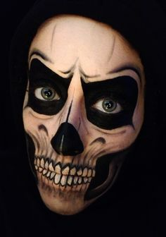 Scary Skull or Day of the Dead