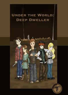 Under the World poster by Godsgirl4444 on DeviantArt  I drew this poster after I finished the first draft of my novel. :D
