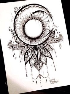 Moon sun #tattooideas