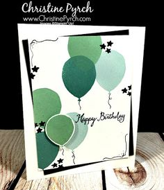balloon celebration stampin up - Google Search