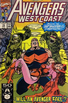 Avengers West Coast #73