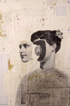 Sense títol by Raimon Benach Art Du Collage, Collage Book, Collage Design, Collage Illustration, Art Design, Digital Collage, Collages, Psychedelic Art, Inspiration Art