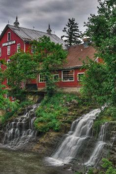 1 of the largest water powered grist mills still in existence