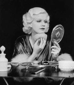 Classic 1930's beauty. #JeanHarlow #CharlotteOlympia #THEOUTNET http://outnet.co/1nwNkjK