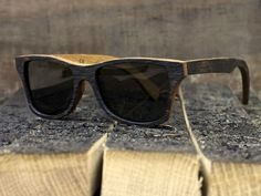 """Shwood, who are famed for their inventive wood framed glasses, have teamed up with Bushmills Irish Whiskey to create """"The Bushmills"""" Whiskey Barrel sunglasses - Limited edition"""