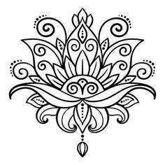 Lotus Flower Tattoo Designs Stock Photos And Images – flower tattoo – mandala Flower Lotus Tattoo, Flower Tattoos, Lotus Flower, Lotus Henna, Hand Tattoos, Feather Tattoos, Star Tattoos, Sleeve Tattoos, Symbol Tattoos