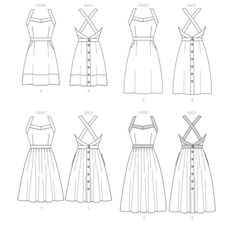 Mccalls Patterns, Sewing Patterns, Miss Dress, Top Pattern, Pleated Skirt, Bodice, Skirts, Fabric, Tops