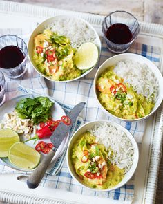 Rose Elliot's rich coconut curry is bursting with Malaysian flavours. Serve with rice for a quick vegetarian midweek meal.