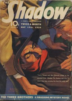The Shadow number 174 05/15/39   The Three Brothers written by Walter Gibson