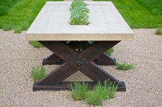 Exceptional Outdoor Patio Furniture: The Tipton Collection Table Vals