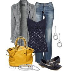MANGO Lace top, Jane Norman Silver Cable Ladder Stitch Cardigan, Admissions Counselor Flat in Deep Blue #fashion