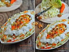 beyaz lahana salatasi tarifi Turkish Salad, No Gluten Diet, Turkish Recipes, Ethnic Recipes, Salty Foods, Appetizer Salads, Tasty, Yummy Food, Cooking Recipes