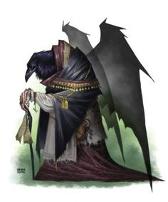 166 best d d character art kenku and tengu images on pinterest