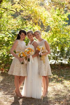 One Couple's Colorful, Classic Fall Wedding in Brooklyn's Prospect Park