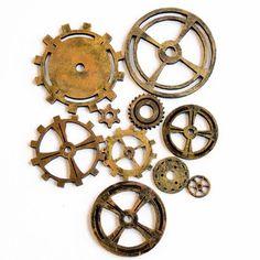 steampunk wheel pattern   . Gothic Lolita Victorian Steampunk mini Hat with Floral Pattern ...