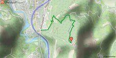 """[Hautes-Pyrénées] Piste bleue de descente du Pic du Jer Il s'agit de l'itinéraire """"bleu"""" de descente du Pic du Jer. C'est un itinéraire de descente, donc veillez à porter l'équipement adapté (gants longs, genouillères, coudières, protection dorsale et casque intégral)."""
