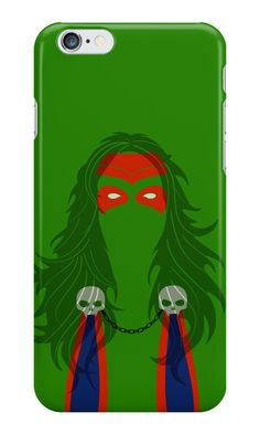 """Gamora Minimalist Art"" iPhone Cases & Skins by adesigngeek 