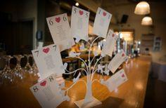 Innovative wedding table plan