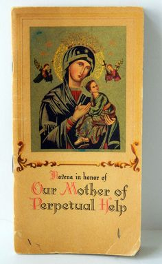 Novena Our Mother of Perpetual Help 1948 by QueeniesCollectibles, $6.99