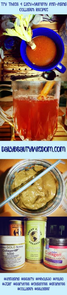 Walk in wisdom : grow in beauty: live in love Grain Free, Dairy Free, Daily Beauty, Whole30 Recipes, Collagen, Sugar Free, Beverage, Anti Aging, Tasty