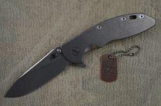 Rick Hinderer XM-18 Titanium Frame Lock Flipper, Blade Show 2014 Lottery Knife #HindererKnives