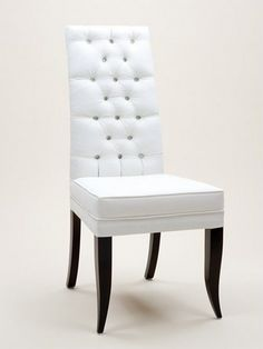High Back Button Dining Chair - £930.00 - Hicks and Hicks