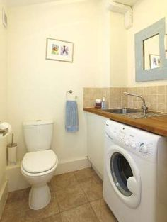 small laundry toilet spaces - Google Search