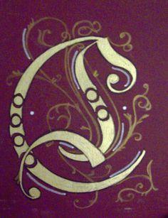 """Letter """"C"""" design by ~Crystallike on deviantART"""