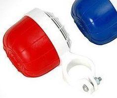 Você se lembra?: Buzina de plástico bicicleta