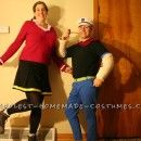 Coolest Popeye Homemade Costumes. You'll also find thousands of cool homemade Halloween costume ideas to inspire your next costume project
